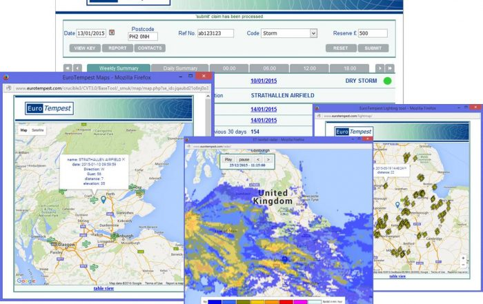 Claims Validation for weather-related insurance claims